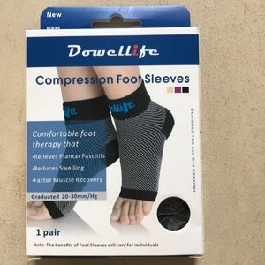 Compression Support Sleeves & Arch Support Socks